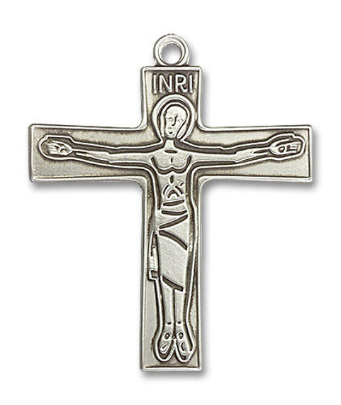 Oversized Cursillio Cross Pendant - Sterling Silver 2 x 1 5/8 5239SS