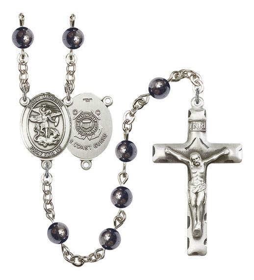 St Michael / Coast Guard Rosary - 7 Bead Options 8076S3SS