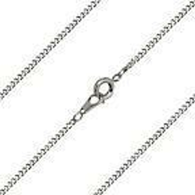 16 Stainless Light Chain With Clasp