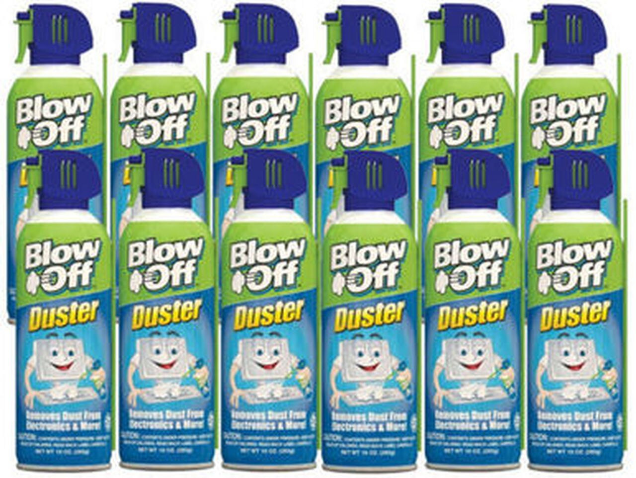 Max Pro Blow Off 152-112-226 Air Duster - 12 Pack