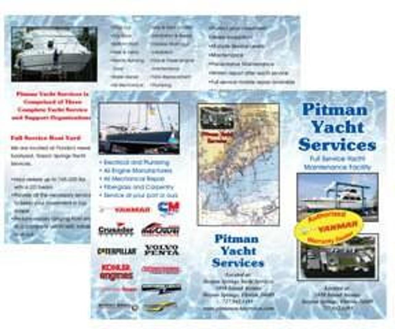 OPP 8.5 x 11 Full Color Brochure - trifold