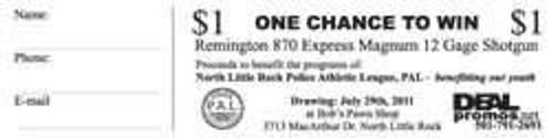 OPP CTWTB Tickets Printed Black