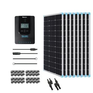 Renogy 800 Watt 24 Volt Monocrystalline Solar Starter Kit w/ MPPT Charge Controller