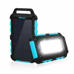 Renogy 10000mAh Solar Power Bank Dual USB Phone Charger
