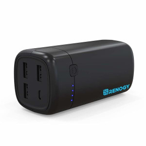 Renogy 20000mAh Power Bank World's Smallest USB Phone Battery Charger