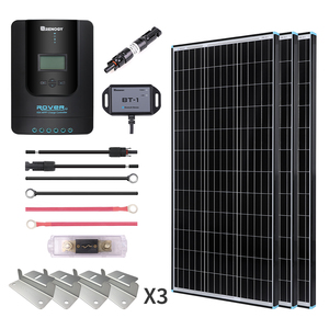 300W Premium Solar Kit Black Frame Solar Panel