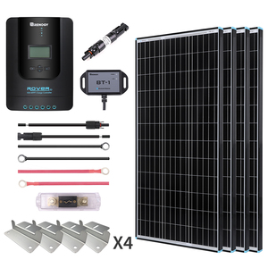 400W Premium Solar Kit Black Frame Solar Panel