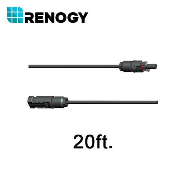 Renogy 20ft 10AWG MC4 Adaptor Kit (A pair)