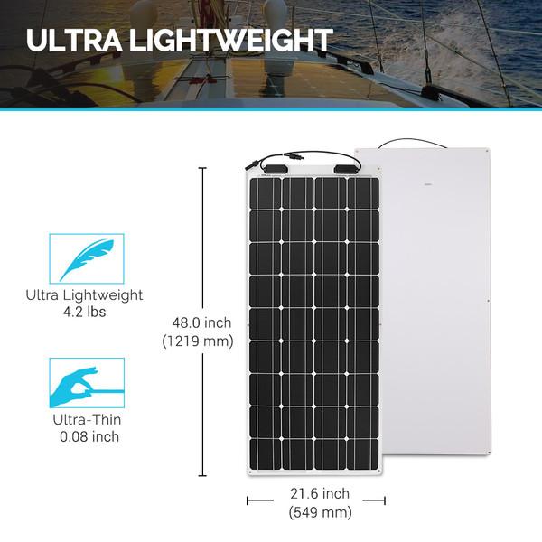 Lightweight solar panel