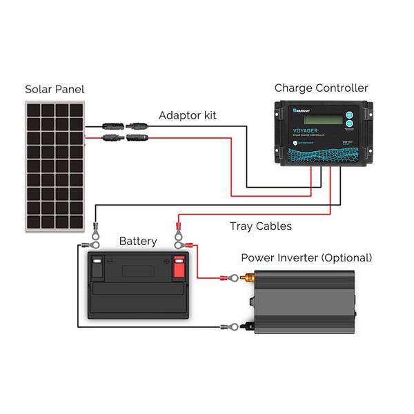 solar kit wiring diagram