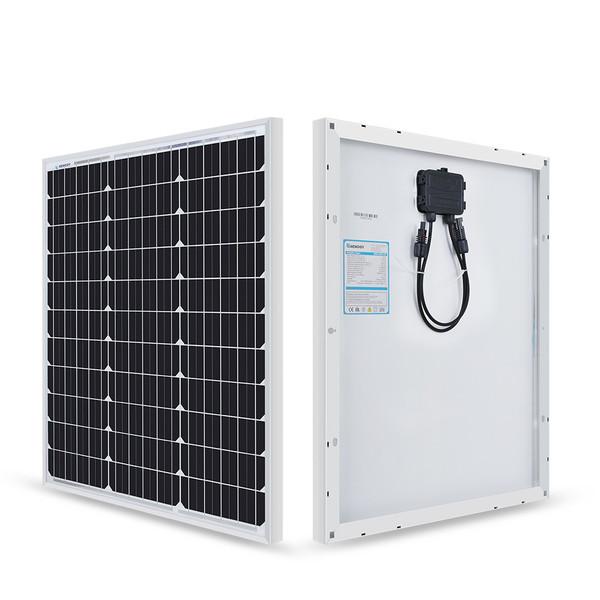 Renogy 50 Watt 12 Volt Monocrystalline Solar Panel (New Edition)