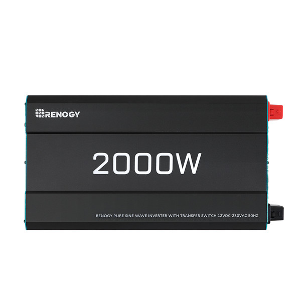 RENOGY 2000 12V to 230V Pure Sine Wave Inverter (with UPS Function)