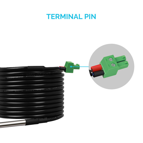 Renogy Battery Temperature Sensor for Solar Charge Controllers