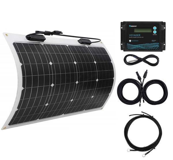 50W marine solar kit