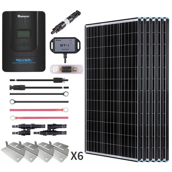 600W Premium Solar Kit Black Frame Solar Panel