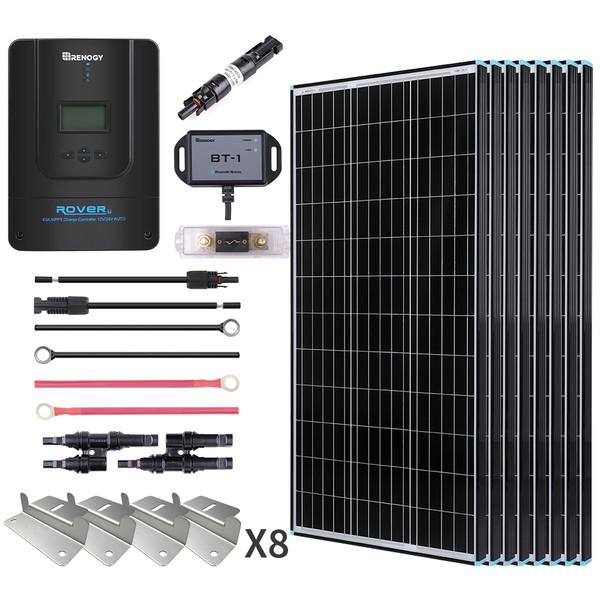 800W Premium Solar Kit Black Frame Solar Panel