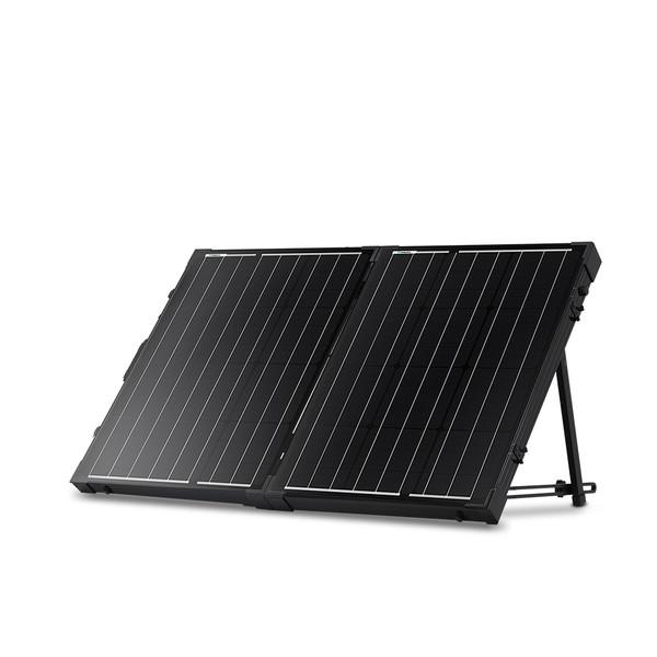 100 Watt 12 Volt Monocrystalline Foldable Solar Suitcase w/o Controller