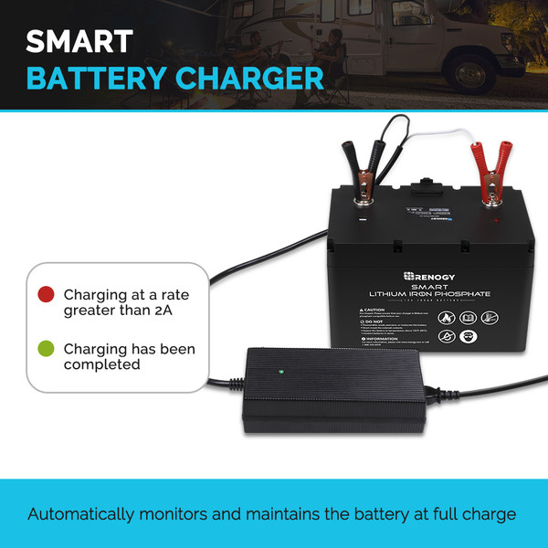 AC battery charger for lithium batteries