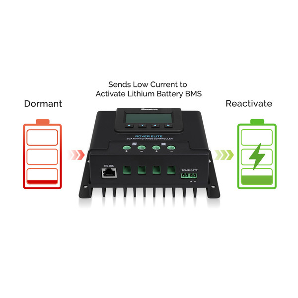 ROVER ELITE 20A MPPT SOLAR CHARGE CONTROLLER