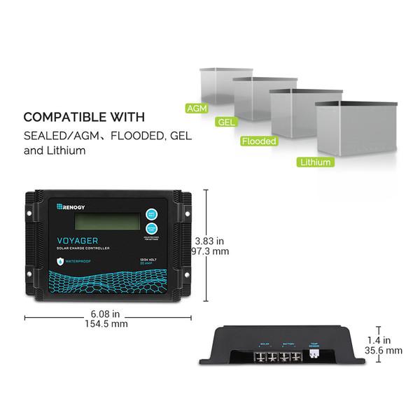 20A pwm controller