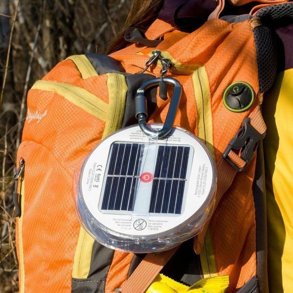 Solar Powered Inflatable LED Lantern