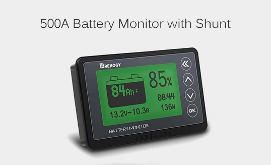 500A Battery Monitor with Shunt