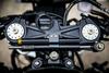 ZX6R Ohlins steering damper kit top view