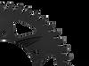 Vortex Sprocket   F5 Black Rear 528CK