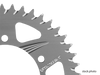 Vortex Sprocket Silver Aluminum Rear 635