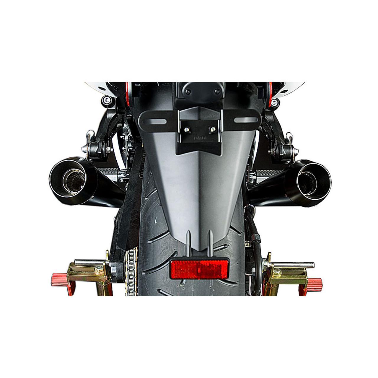 M4 Black Retro-Drag Slip Ons 2006-2007 ZX14 KA9322