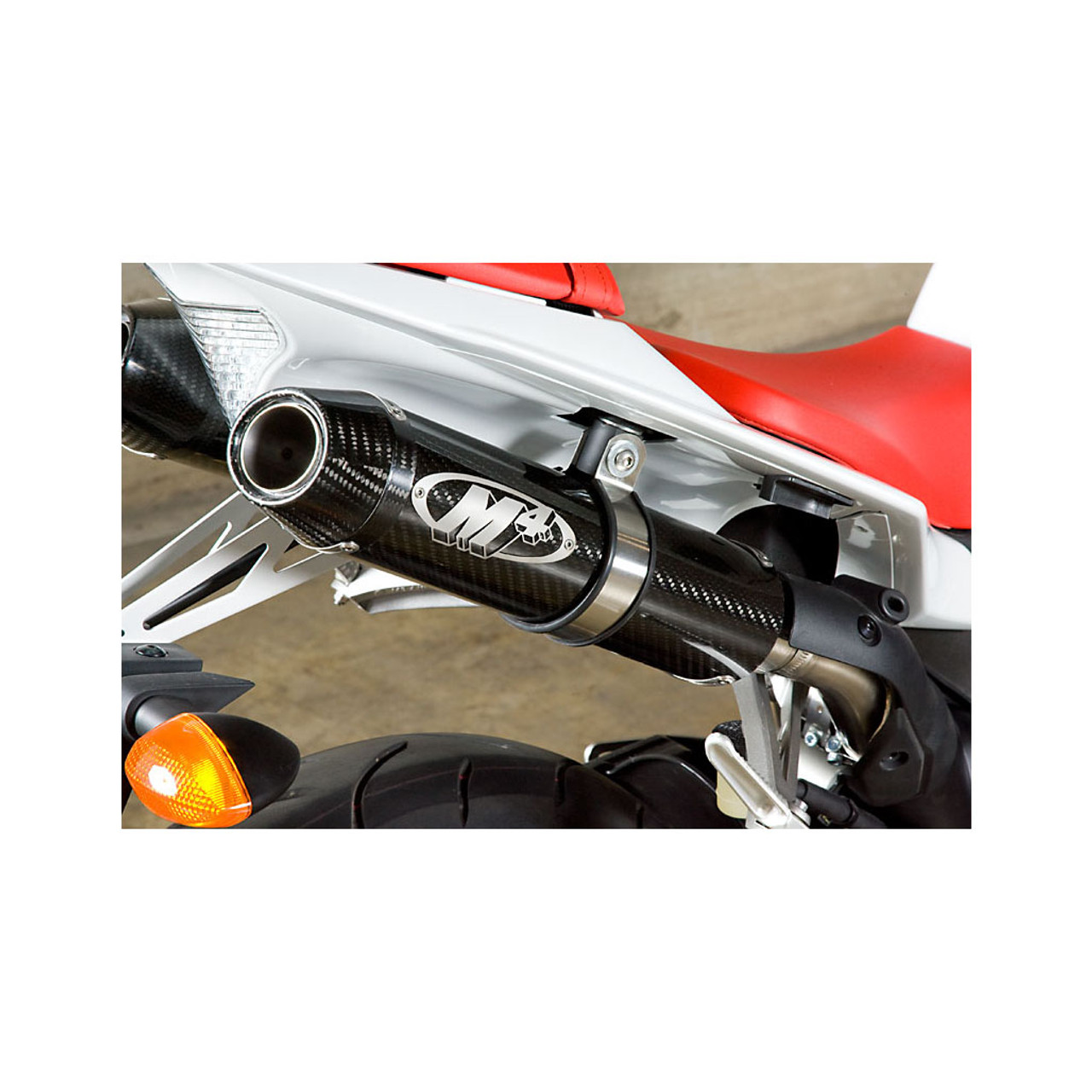 M4 Carbon Fiber Slip-on W/ Catalytic Converter Elim. 2009-2014 R1 YA9934