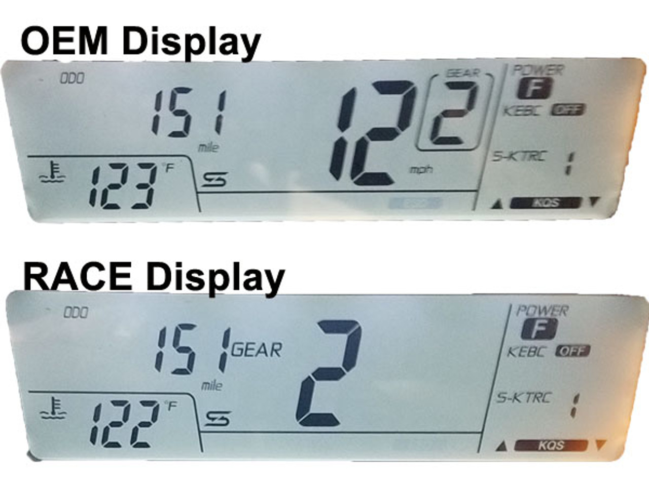 OEM Display vrs Race Display