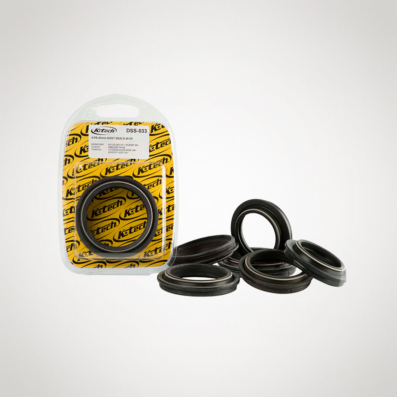FF DUST SEALS PAIR SHOWA 45MM NOK (With Spring) DSS-025