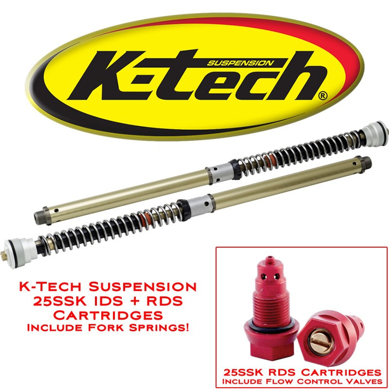 KTECH RDS FORK CARTRIDGE KIT 125-005-150-010