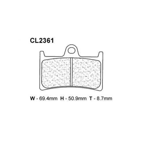 CL 2361XBK5 BRAKE PAD