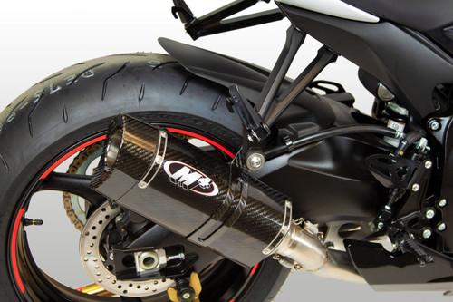 M4 Full System Titanium Midpipe MC36 Carbon Fiber 2011-2019 GSXR600/750 SU6124Mt