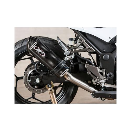 M4 Carbon Fiber Slip-on 2013-2017 Ninja 300 KA3014