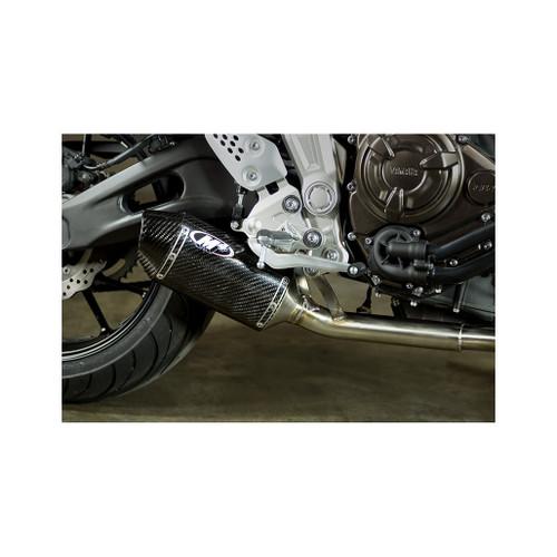 M4 Carbon Fiber Slip-on 2015-2019 FZ-07 / MT-07 YA6714