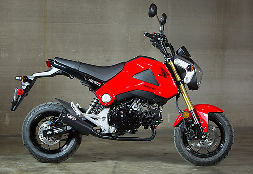 M4 Honda Grom M4 Full System Exhaust HO1125