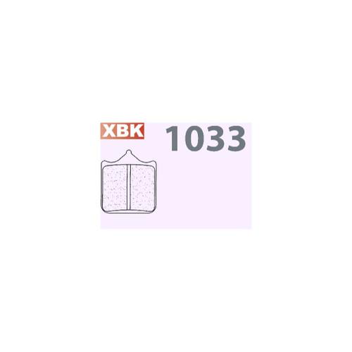 CL 1033XBK FRONT BRAKE PAD 2
