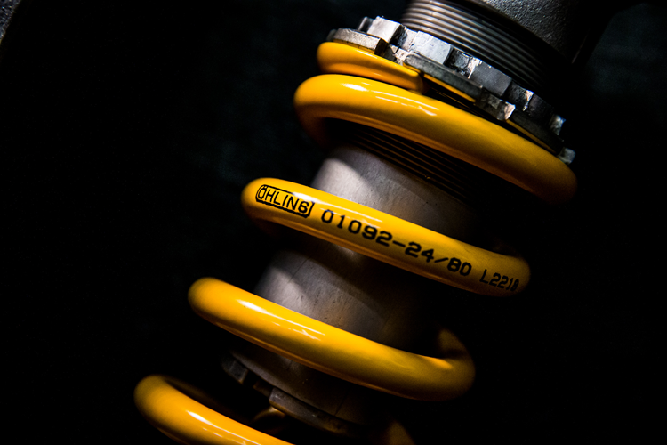 How to read the numbers on an Ohlins spring