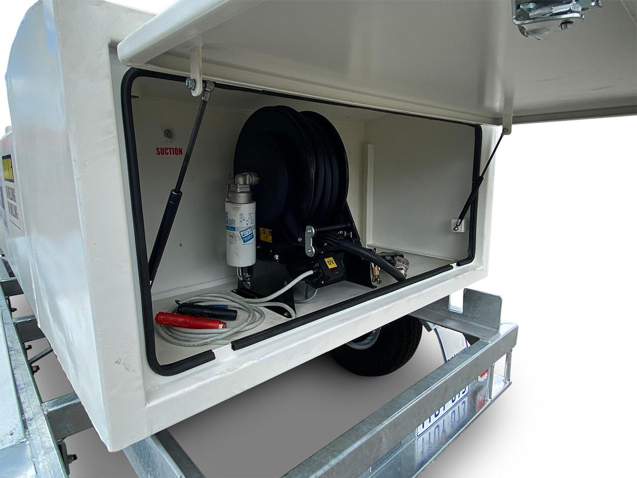 1500L Portable Self Bunded Diesel Trailer