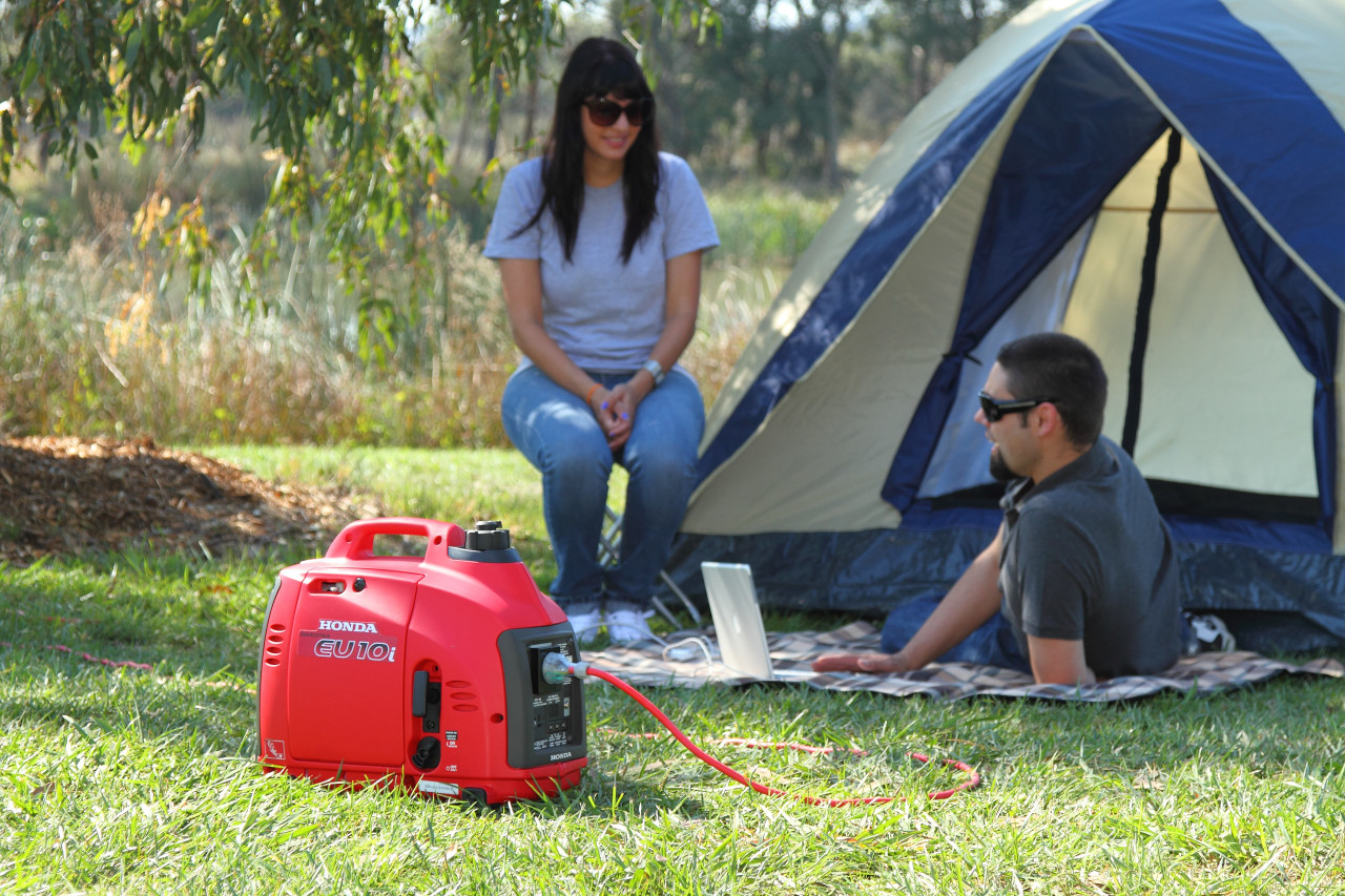 Honda EU10i, Perfect for RV & Camping Applications.