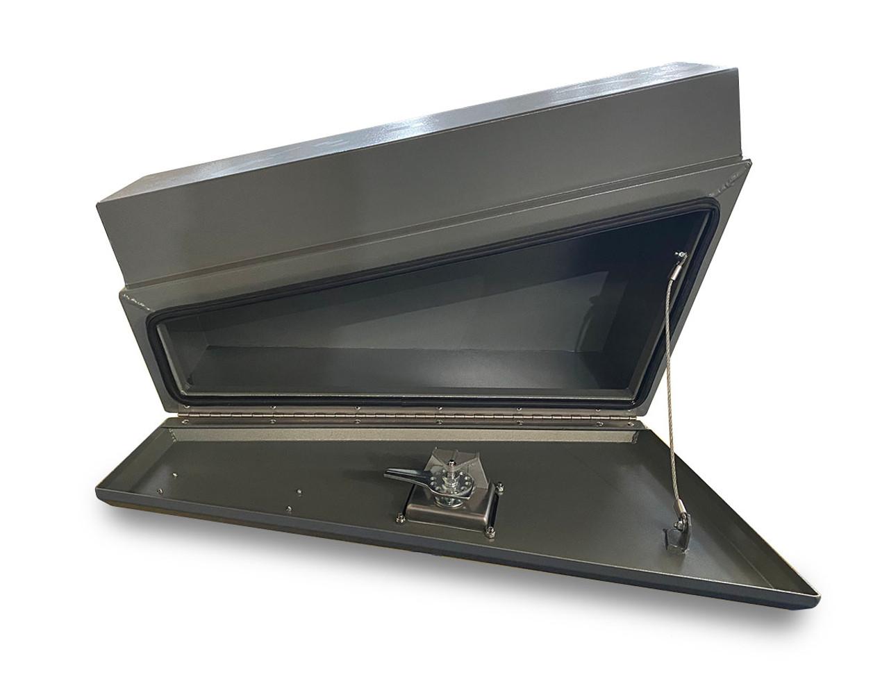 Underbody Tool Box Combo RHS & LHS Aluminium Grey Powder Coated- Ute & Truck - 2mm