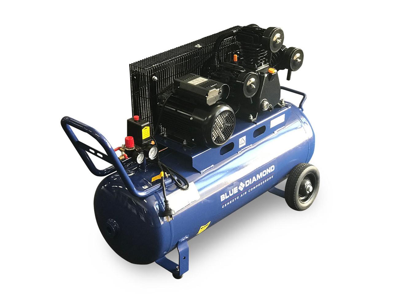 Piston Air Compressor- Electric 3HP 18 CFM 100L - 125 PSI