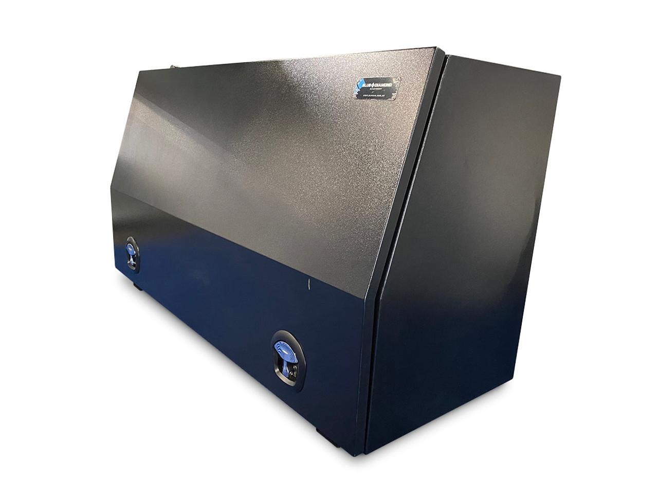Black Steel Mine Series Tool Box with Drawers- W1500