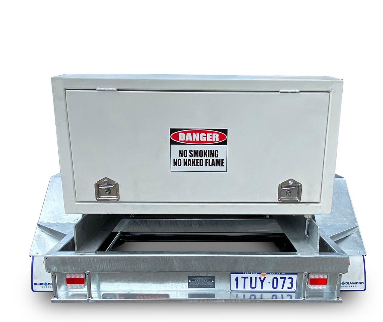 2000L Portable Self Bunded Diesel Trailer