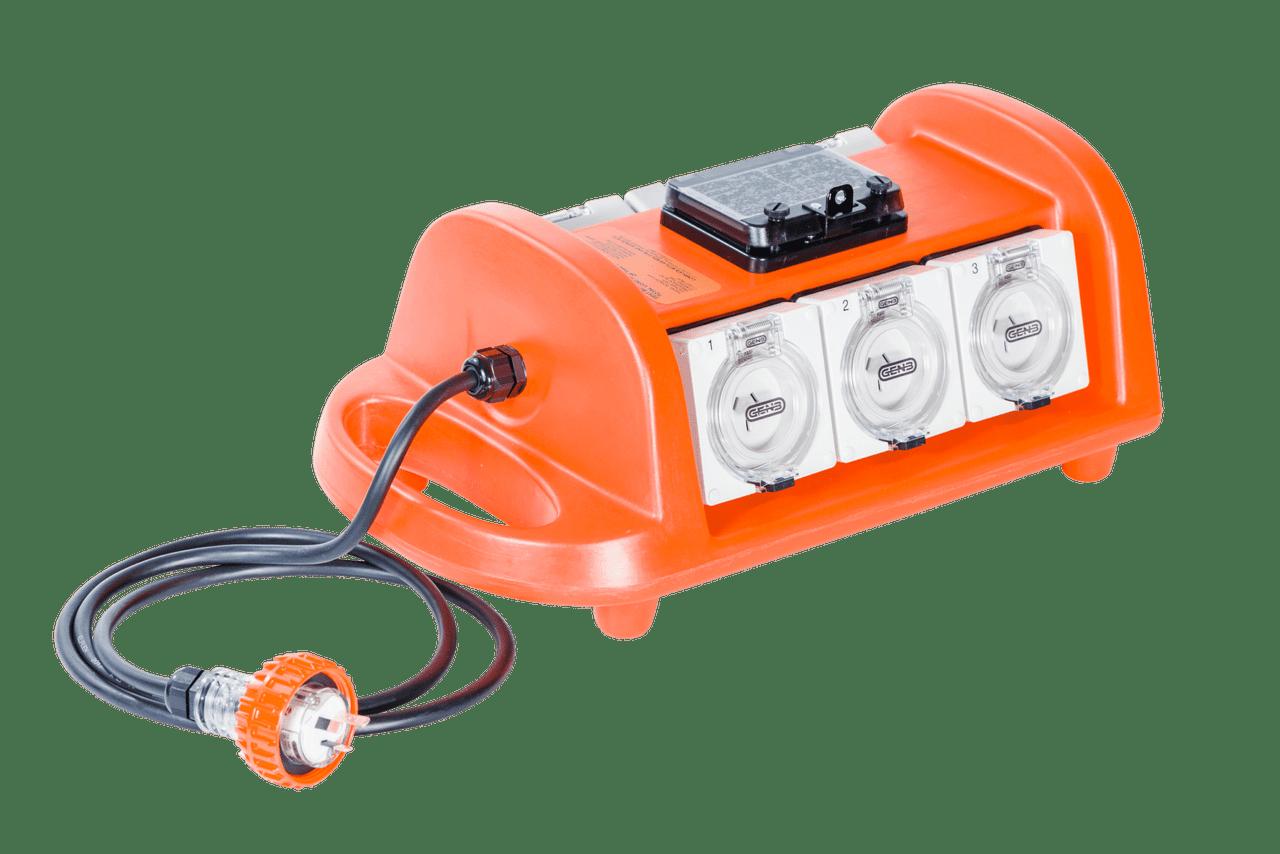 BDM10A/6 Portable Power Distribution Board