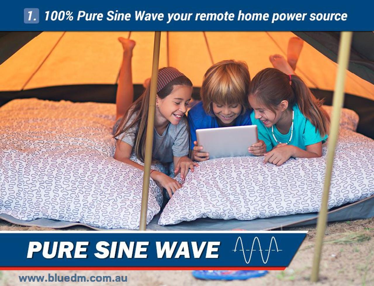 pure sine wave inverter generator