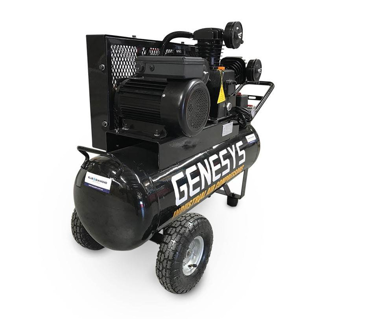 Piston Air Compressor 3.5HP, 18CFM, Genesys Brand,